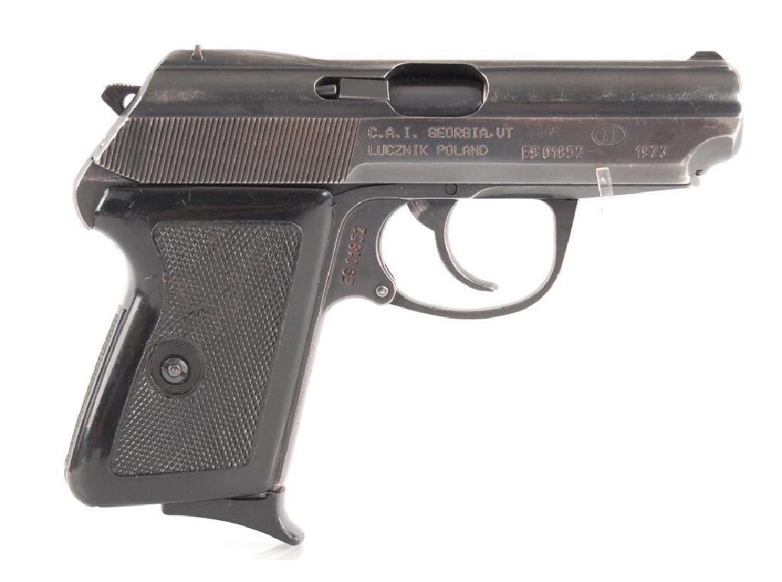 Polish P-64 9mm Semi Automatic Pistol