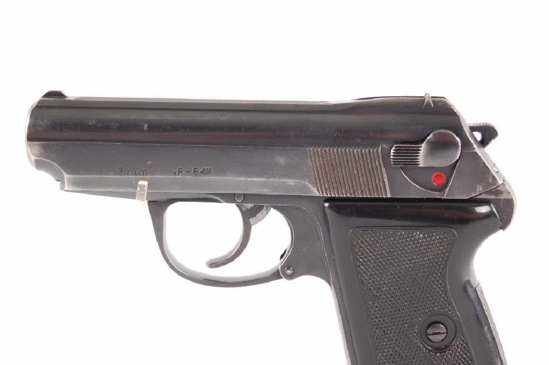 Polish P-64 9mm Semi Automatic Pistol - 4