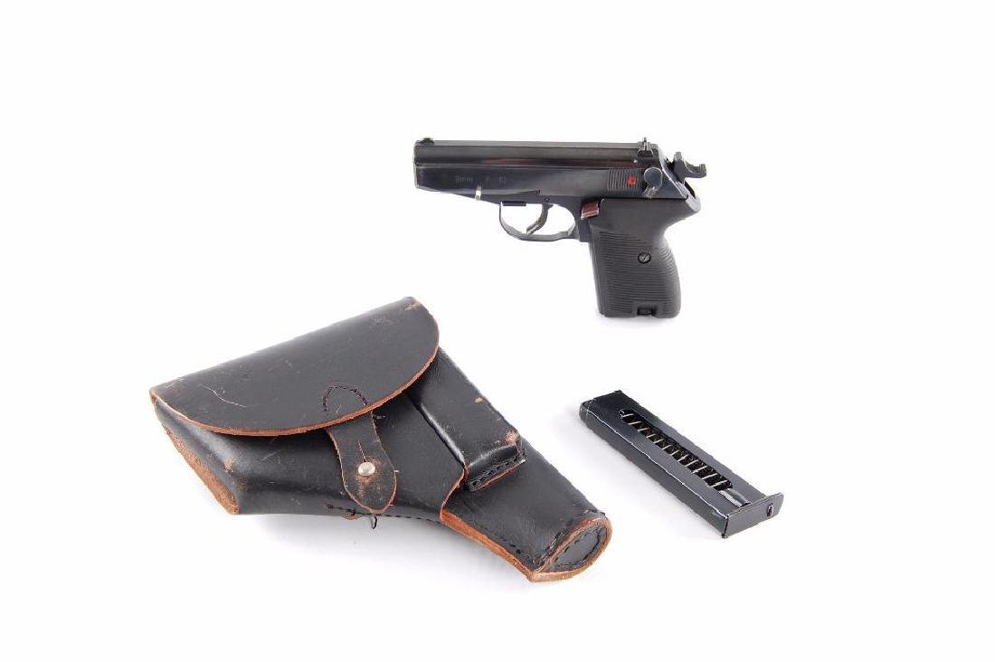 Polish P-83 9mm Semi Automatic Pistol with Leather - 4