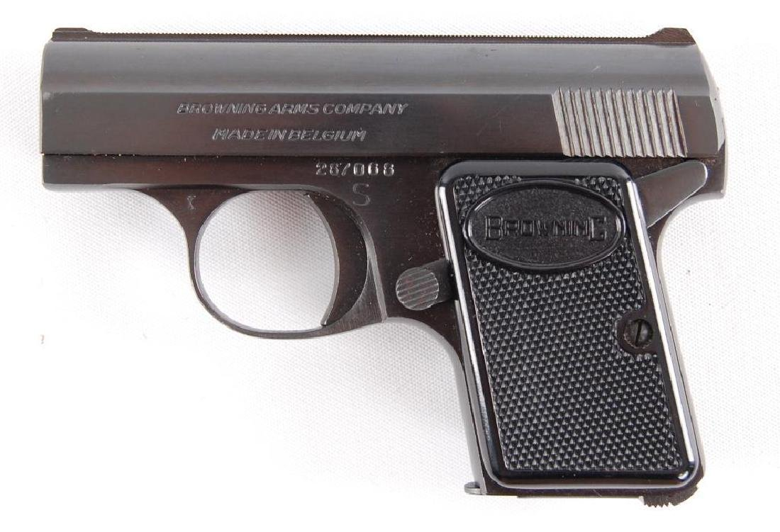 """Browning """"Baby"""" 6.35mm Semi Automatic Pistol with"""