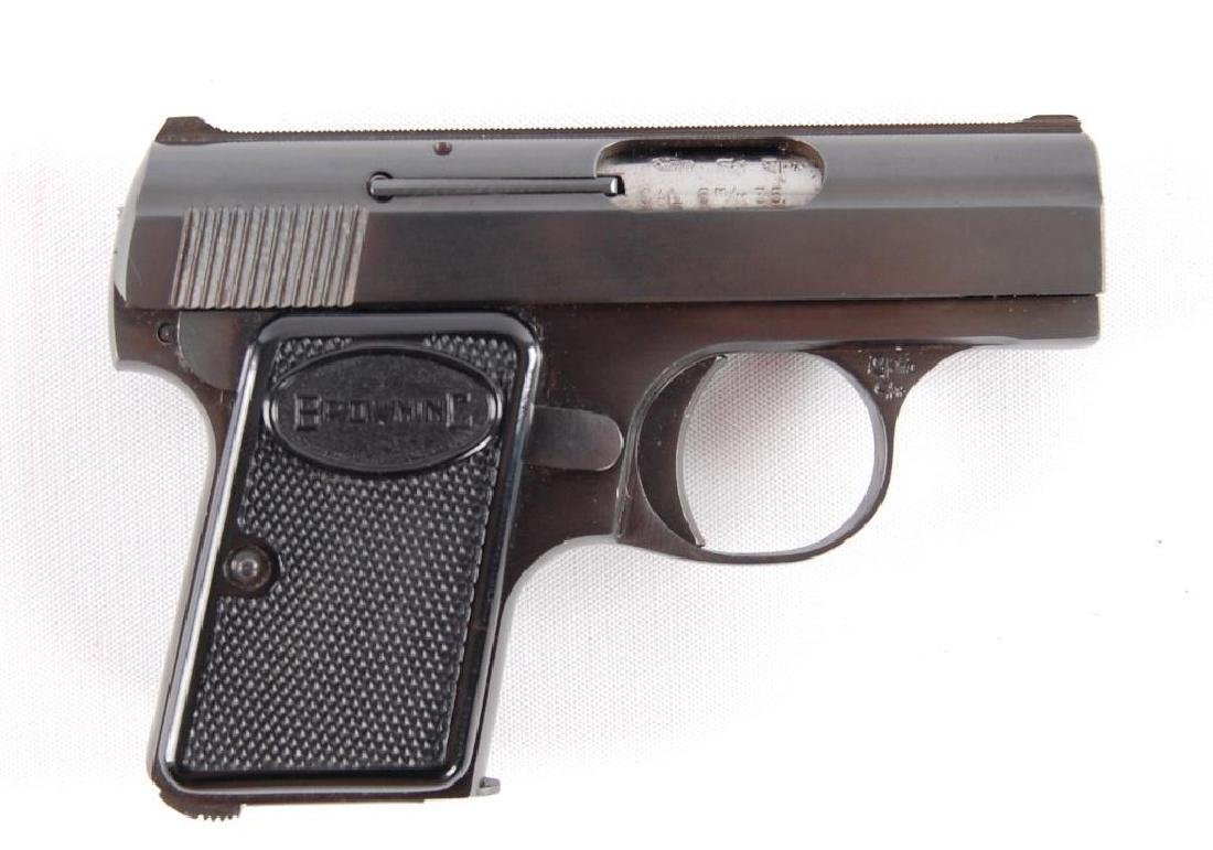 """Browning """"Baby"""" 6.35mm Semi Automatic Pistol with - 2"""