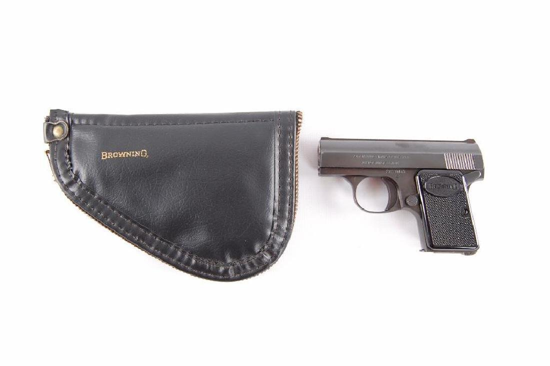 """Browning """"Baby"""" 6.35mm Semi Automatic Pistol with - 3"""