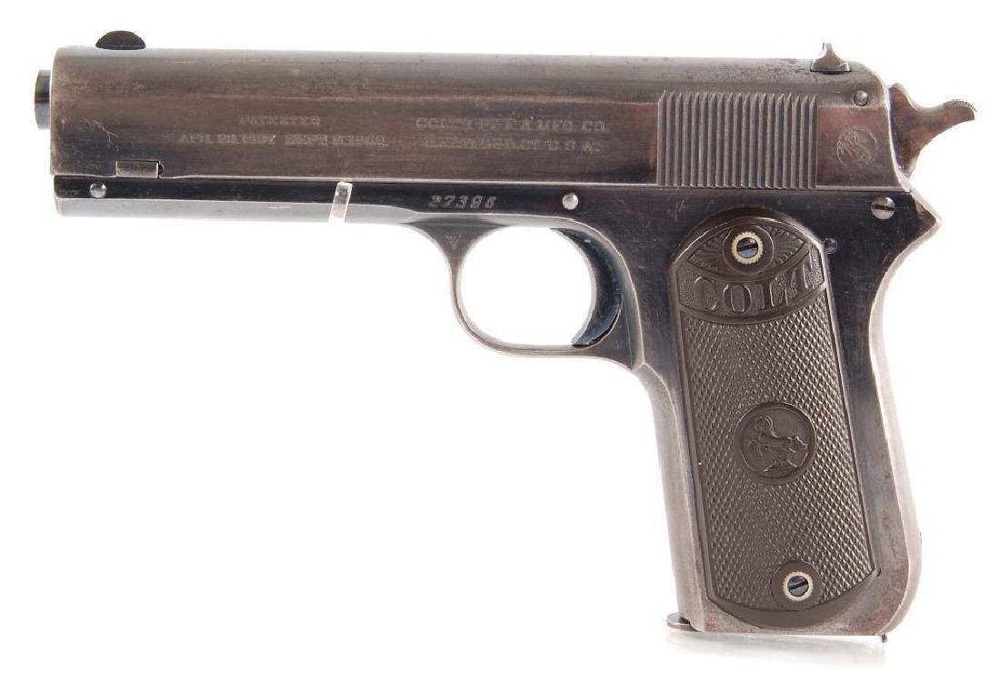 Colt Model 1903 Hammer 38 Rimless Cal. Semi Automatic