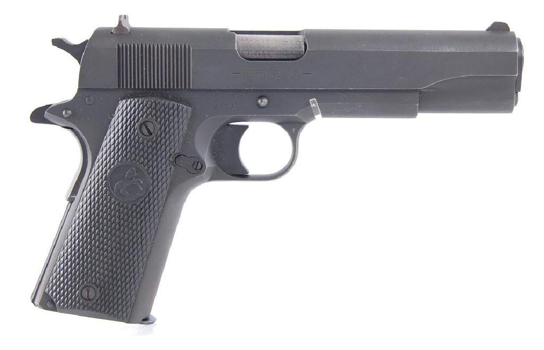 Colt Model 1911A Series 80 45ACP Semi Automatic Pistol