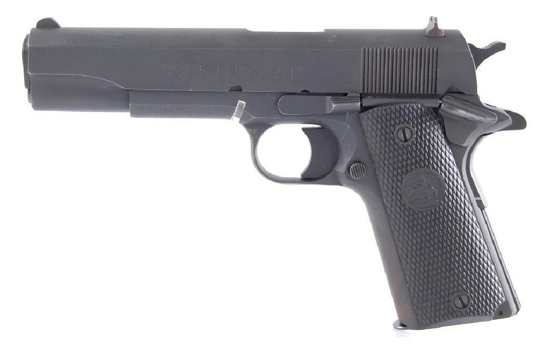 Colt Model 1911A Series 80 45ACP Semi Automatic Pistol - 3