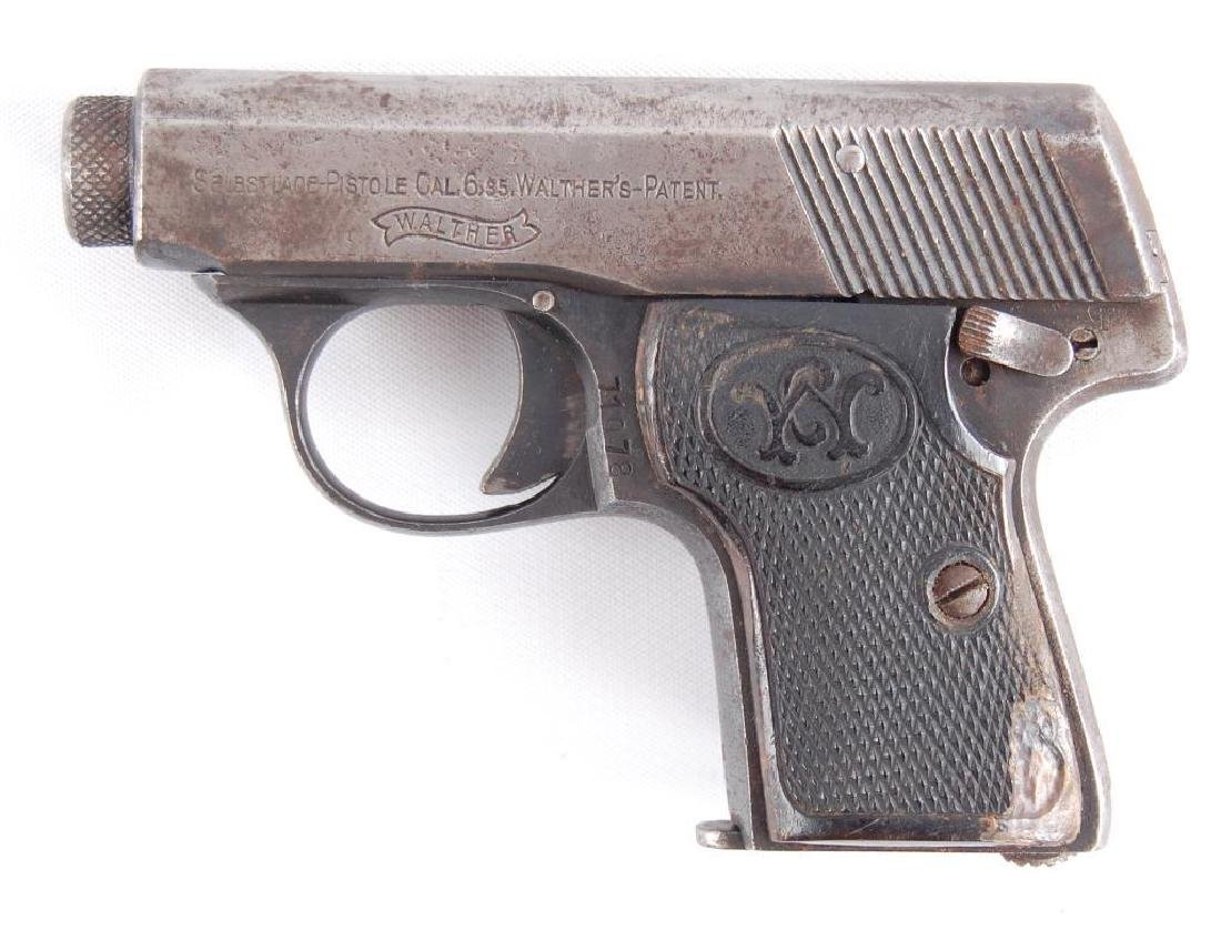 Walther Model 5 6.35mm Semi Automatic Pistol with