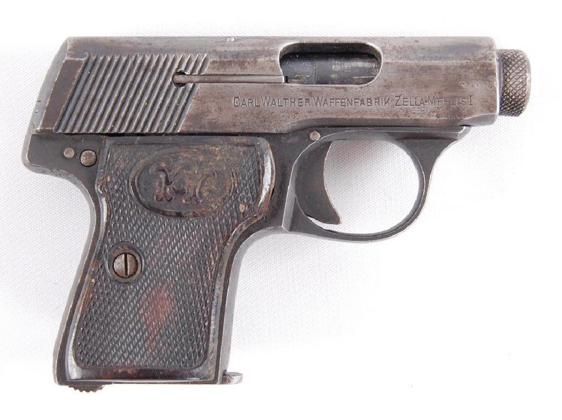 Walther Model 5 6.35mm Semi Automatic Pistol with - 3