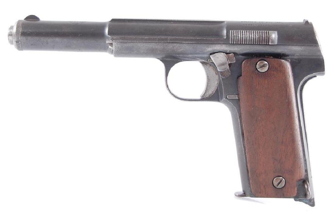 Astra Model 400 9mm Largo Semi Automatic Pistol with - 5
