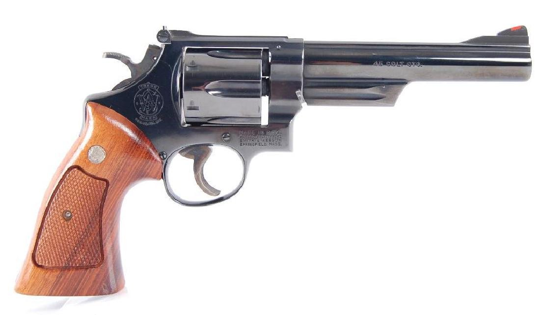 Smith & Wesson Model 25-5 45 Long Colt Double Action