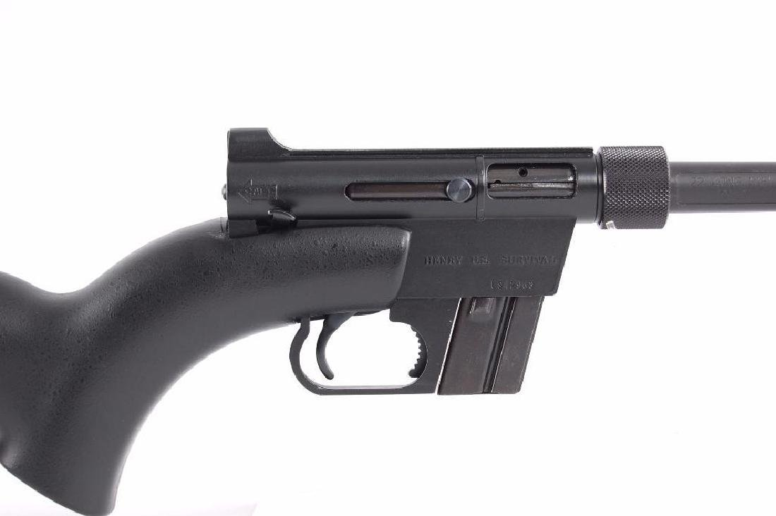 Henry U.S. Survival 22LR Semi Automatic Rifle with - 4