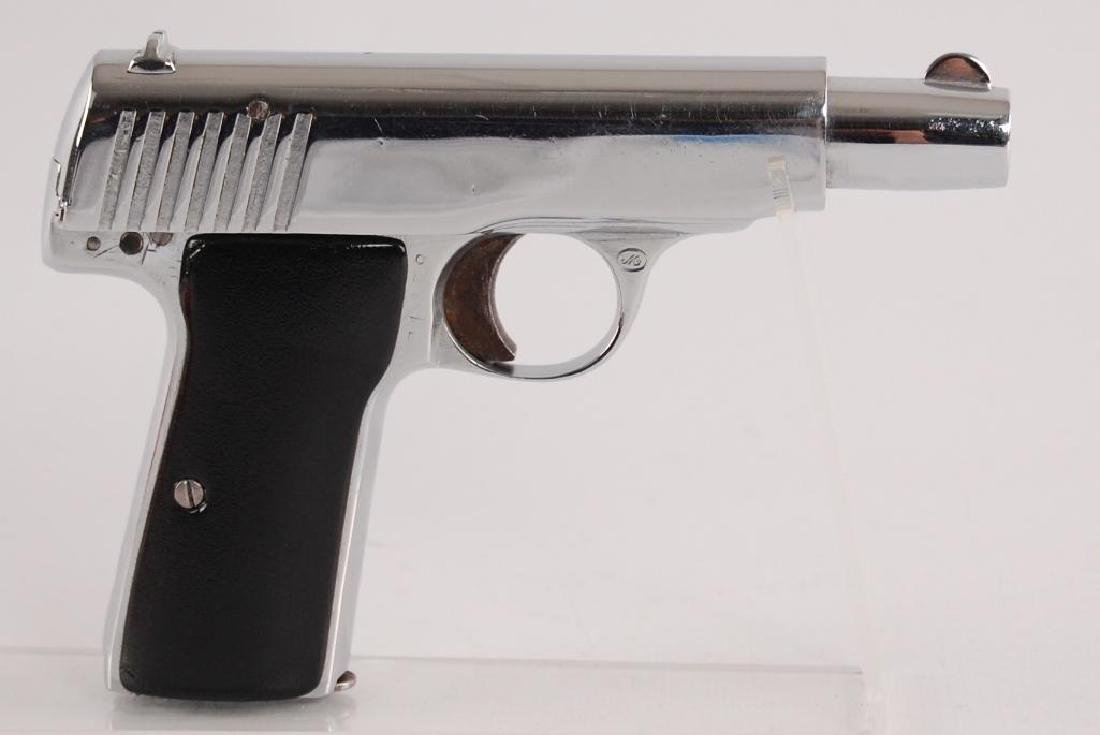 Walther Model 4 7.65mm Nickel Plated Semi Automatic - 3