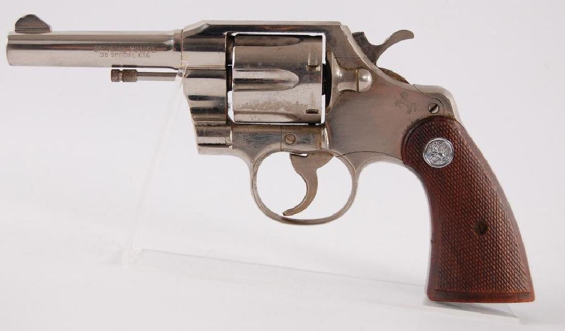 Colt Official Police .38 Special CTG. Double Action