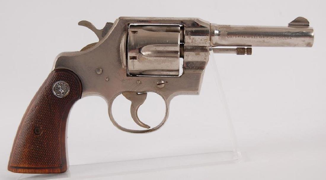Colt Official Police .38 Special CTG. Double Action - 4