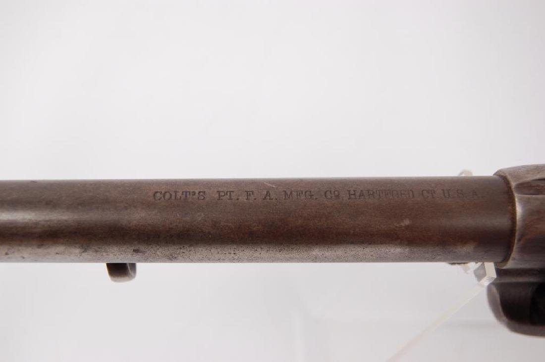 Historical Colt U.S. Cavalry Single Action Army .45 - 5