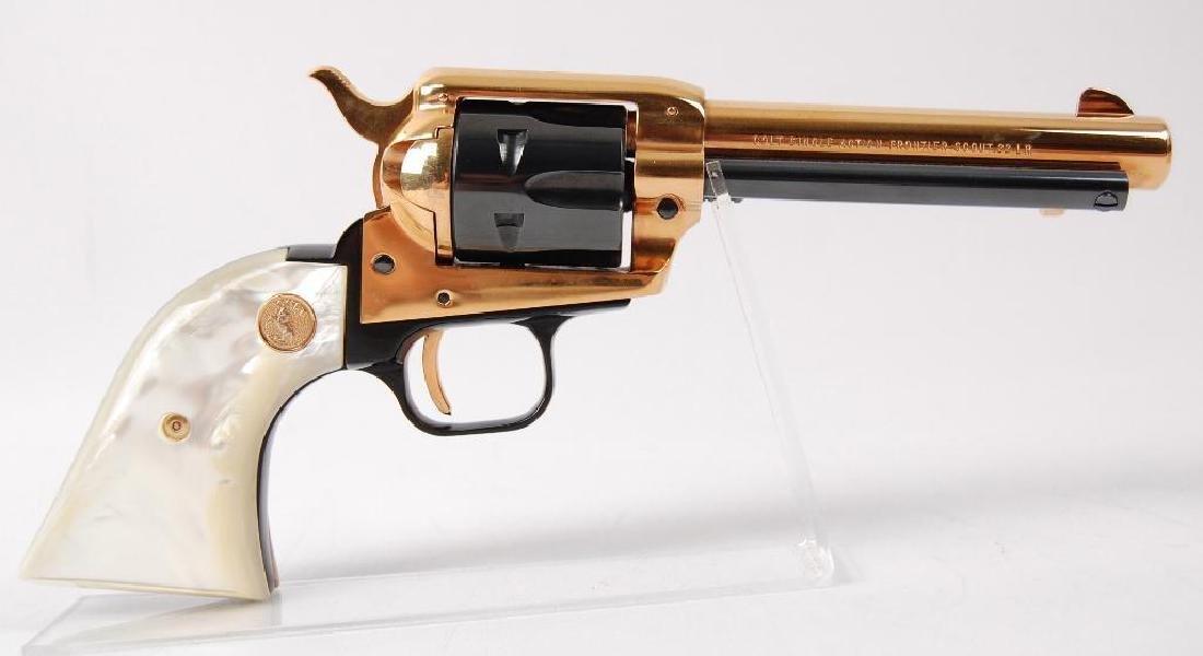 Colt 1867-1967 Nebraska Centennial Single Action - 4