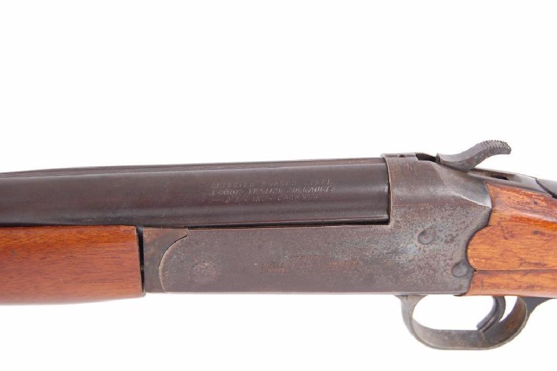 Stevens Single Shot Break Action 20 GA. Shotgun - 5