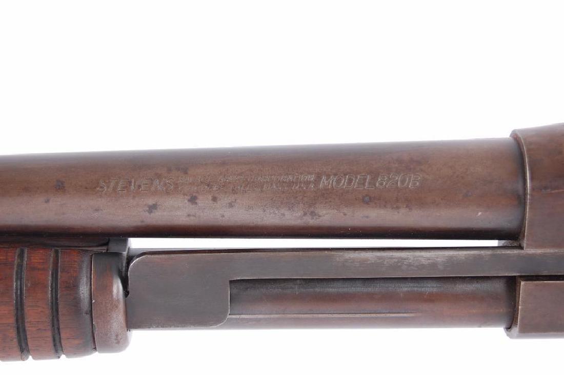 Stevens Model 820B 12GA Pump Action Shotgun - 9