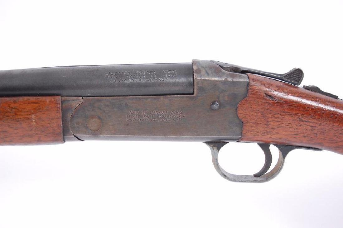 Savage Model 220A 16GA Hammerless Single Shot Shotgun - 3