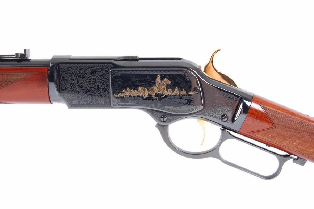 John Wayne Commemorative 1873 Winchester 45LC Lever - 6
