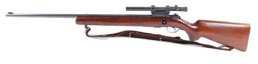 Winchester Model 75 22LR Target Bolt Action Rifle with - 5