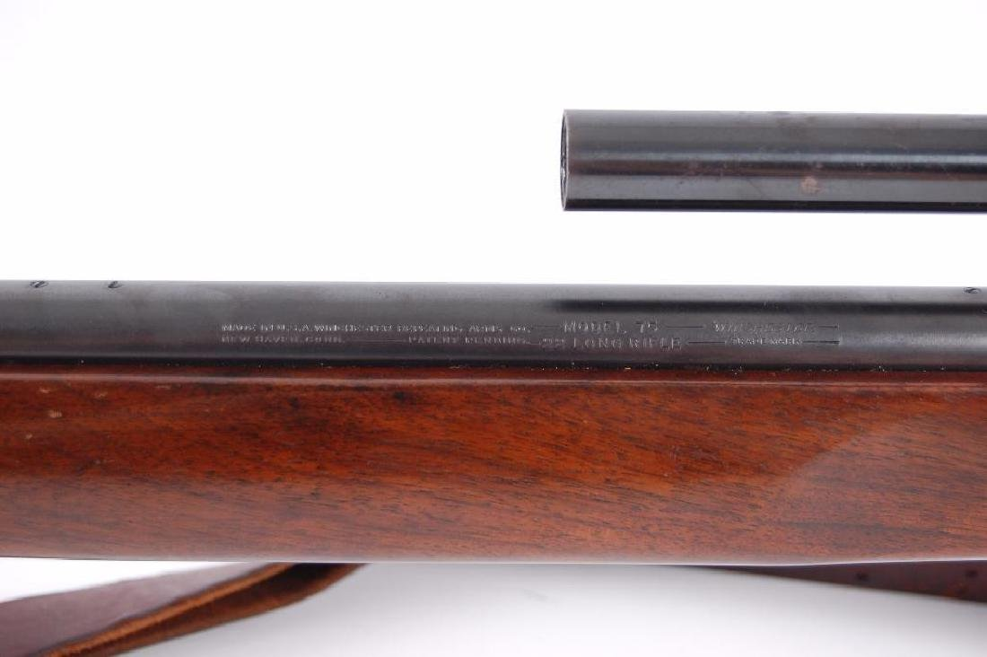 Winchester Model 75 22LR Target Bolt Action Rifle with - 8