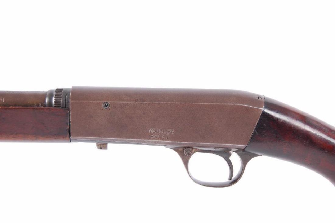 Remington Model 24 Takedown .22LR Semi Automatic Rifle - 7