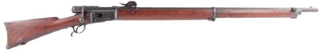 Swiss Veterelli Model 1881 10.4x52Rmm Bolt Action Rifle