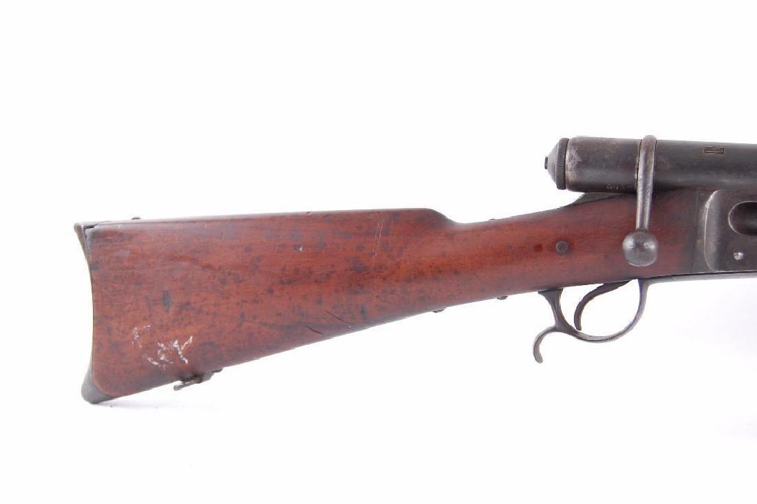 Swiss Veterelli Model 1881 10.4x52Rmm Bolt Action Rifle - 2