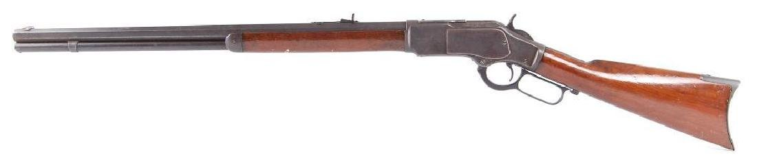 1873 Winchester 44-40 Cal. Lever Action Rifle with - 5