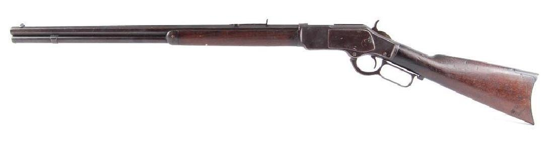 Winchester Model 1873 38-40 Cal. Lever Action Octagon - 5