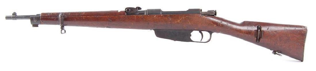 ID WW2 Carcano 7.35mm Bolt Action Rifle with Hand - 6
