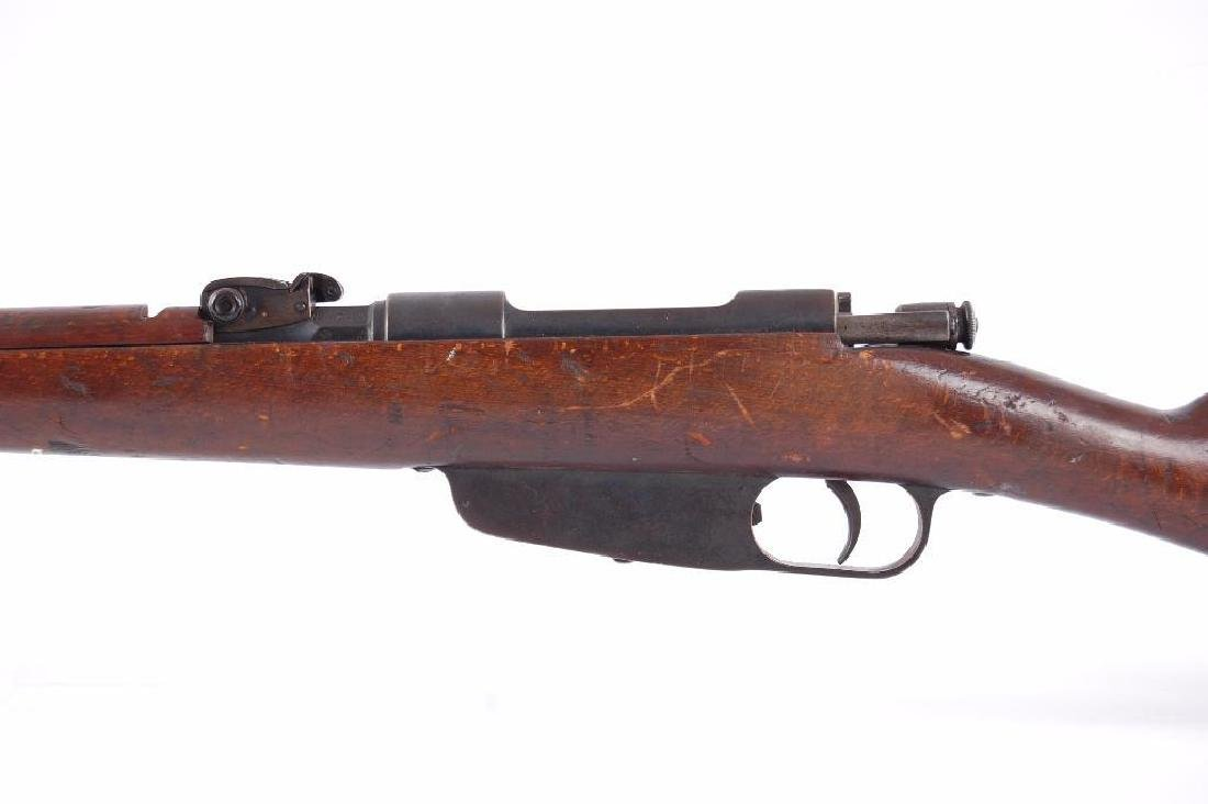 ID WW2 Carcano 7.35mm Bolt Action Rifle with Hand - 8