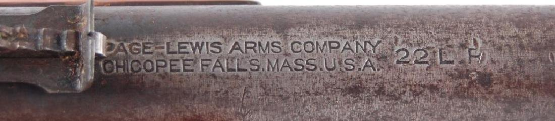 Page and Lewis Arms Co. 22LR Single Shot Falling Block - 9
