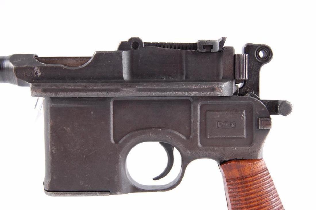 WW2 German Waffenfabrik Broom Handle Mauser 7.63mm Semi - 2