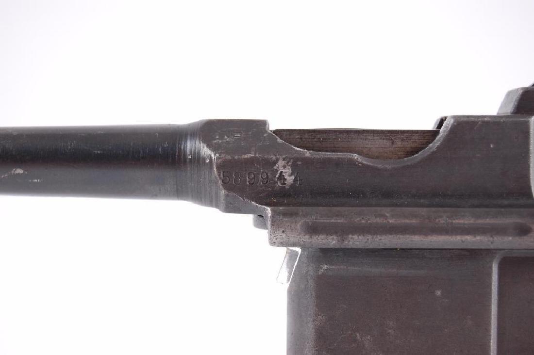 WW2 German Waffenfabrik Broom Handle Mauser 7.63mm Semi - 3