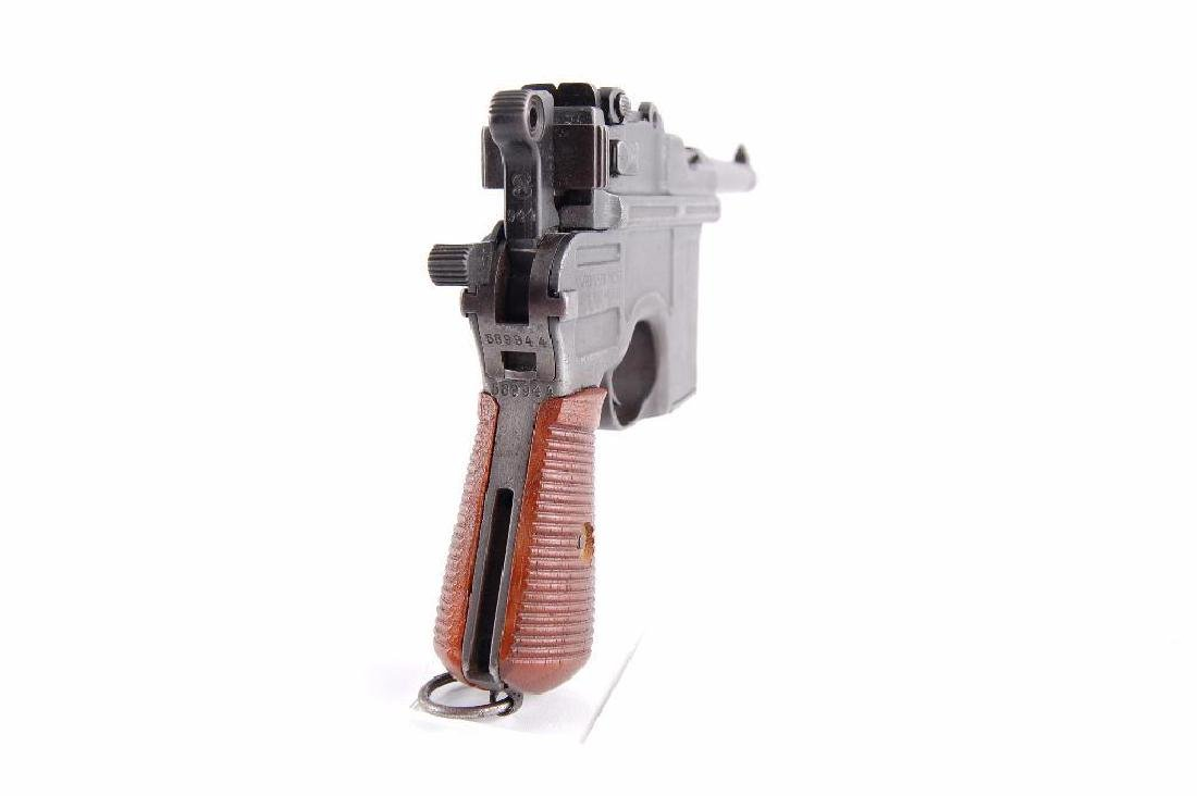 WW2 German Waffenfabrik Broom Handle Mauser 7.63mm Semi - 5