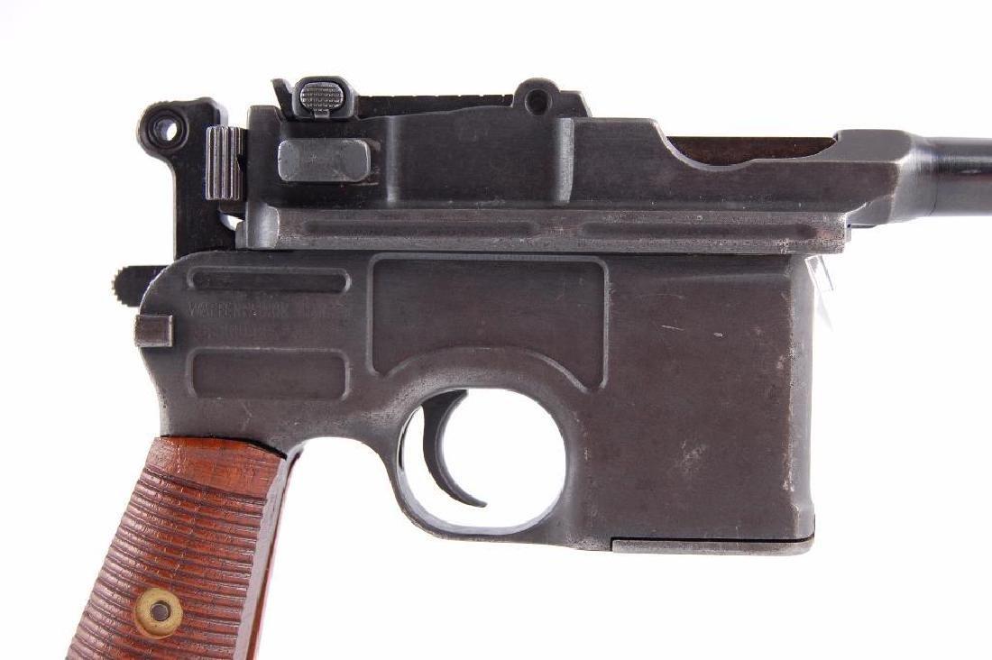 WW2 German Waffenfabrik Broom Handle Mauser 7.63mm Semi - 7