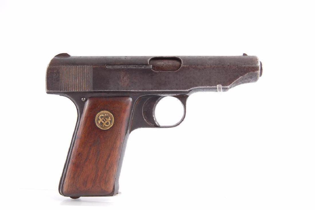 Ortgies Deutsche Werke 7.65mm Semi Automatic Pistol - 3