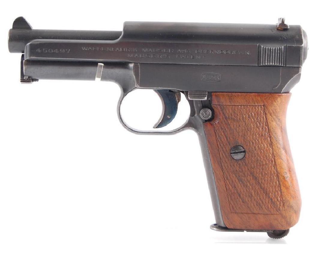 Waffenbrik Mauser 7.65mm Seni Automatic Pistol