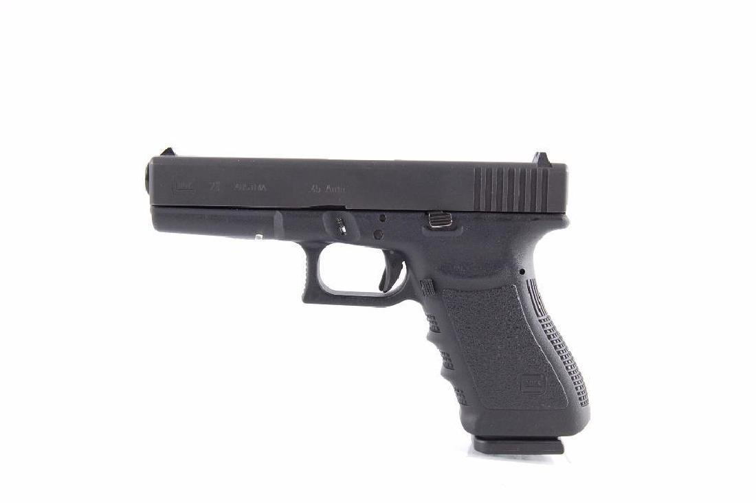 Glock Model 21 45 Auto Semi Automatic Pistol with - 3