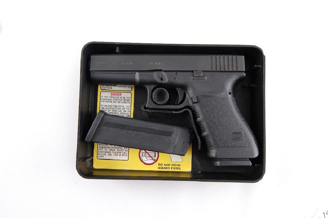 Glock Model 21 45 Auto Semi Automatic Pistol with - 5