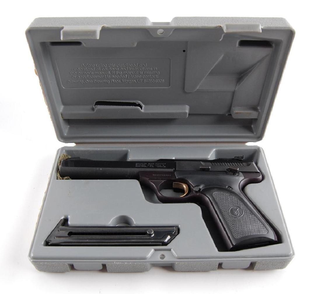 Browning Buck Mark .22 LR Semi Automatic Target Pistol - 5
