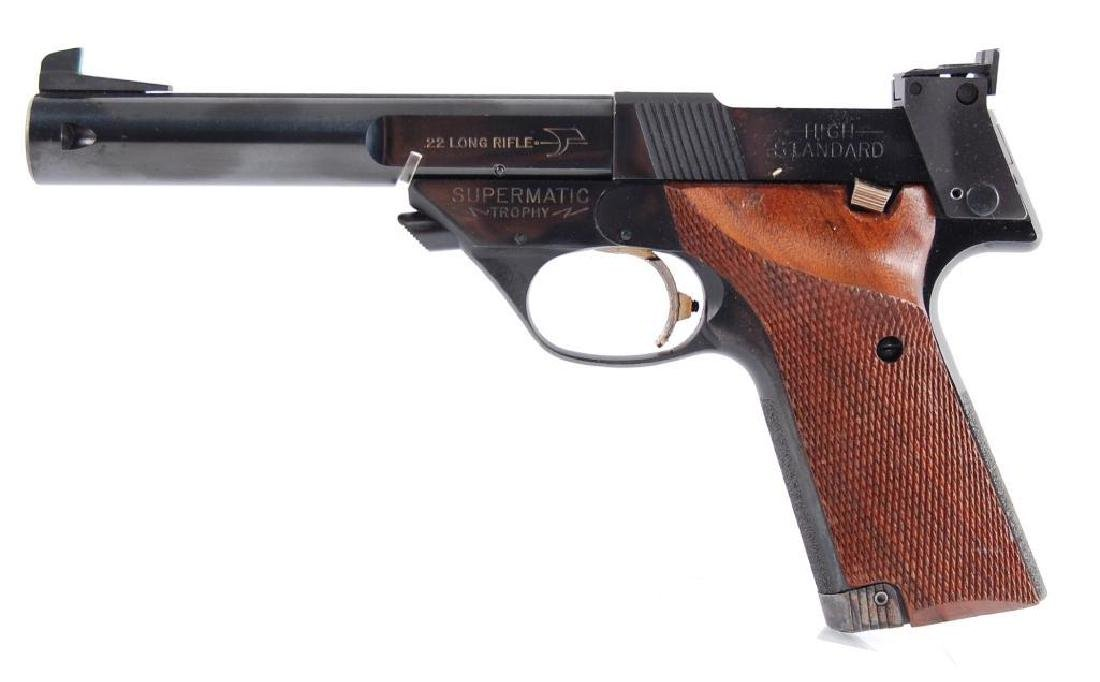High Standard Supermatic Trophy .22 LR Semi Automatic