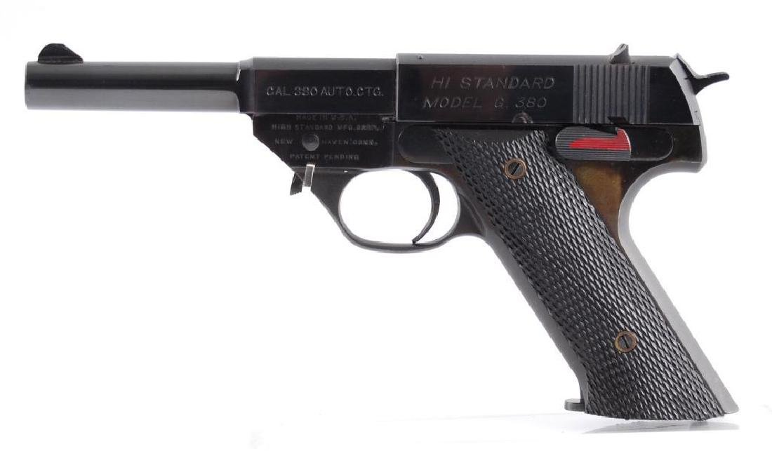 High Standard Model G .380 Cal. Semi Automatic Pistol