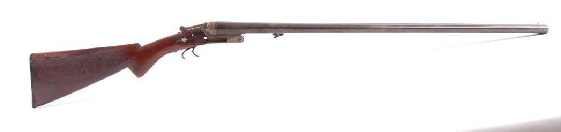12GA Break Action Side By Side Double Barrel Shot Gun