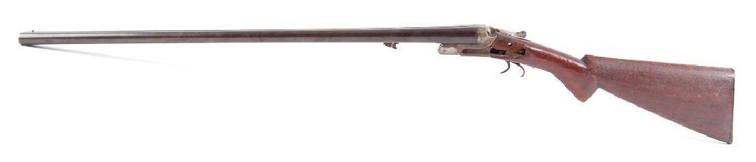 12GA Break Action Side By Side Double Barrel Shot Gun - 5