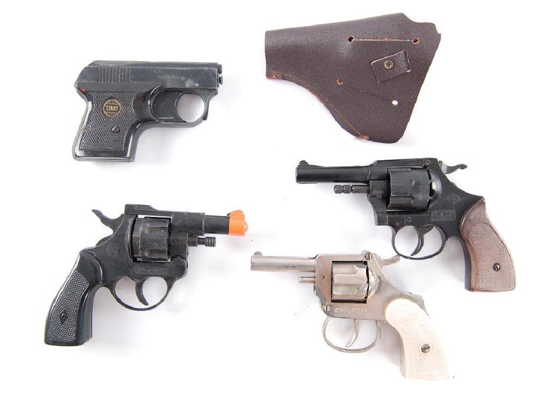 Group of 4 Vintage Starter Pistols