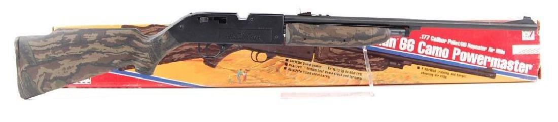Crosman 66 Camo Powermaster .177 Cal. Pellet Gun with - 2