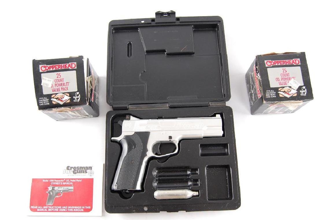 Crosman Air Guns Model 1008 ReoeatAir CO2 Pellet Pistol