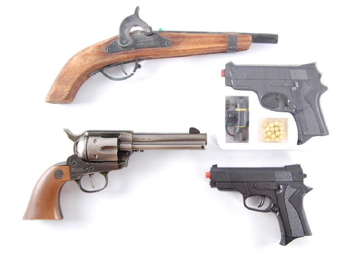Group of 4 Air Soft and Cap Guns